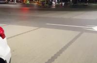 Wypadek pod Auchan