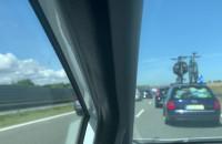 Dwukilometrowy korek na A1 w stronę Gdańska