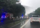 Potężny korek na obwodnicy w stronę Gdańska