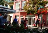 Turyści spacerują po Monte Cassino w Sopocie