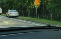 Uszkodzone samochody na obwodnicy