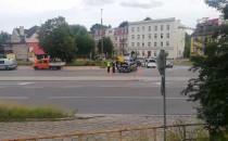 Kolizja na Trakcie św Wojciecha w kierunku...