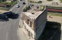 Wyburzają budynek przy Trakcie św. Wojciecha