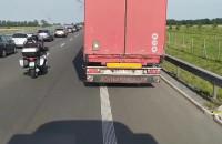 Wypadek przed Nowym Dworem w stronę Gdańska