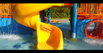 Lato w Aquapark Sopot