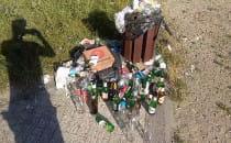 Alkohol i śmieci zamiast skweru dla...