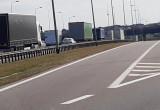 Stoi obwodnica na Karczemkach w kierunku autostrady A1