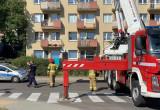 Akcja strażaków na Rozewskiej w Chyloni