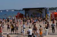 Maraton zumby na plaży w Brzeźnie