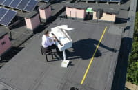 Koncert na dachu w Sopocie