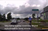 Rowerzyści jeżdżą niezgodnie z przepisami