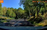Zachowanie dwóch rowerzystów na drodze