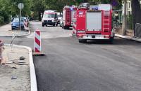 Interwencja strażaków w Sopocie