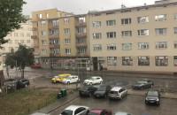 Obfity deszcz w Gdyni