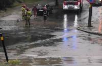 Akcja strażaków na Jasieniu