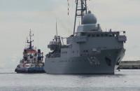 Niemiecki okręt wywiadowczy wszedł do gdyńskiego Portu
