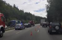 Wypadek na obwodnicy w stronę Gdanska