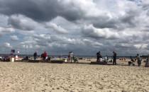 Interwencja straży miejskiej na plaży w...
