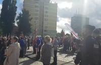 Działacze Solidarności czekają na prezydenta Dudę