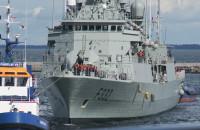 Wejście okrętów NATO do gdyńskiego portu