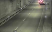 Poranna kolizja w tunelu pod Martwą Wisłą