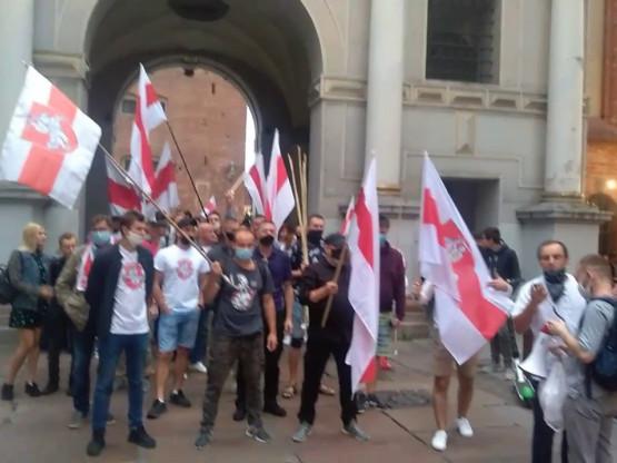 Marsz poparcia dla Białorusi