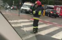 Duże korki w Sopocie po wypadku
