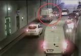 Wypadek w tunelu pod Wisłą (3.09.2020)
