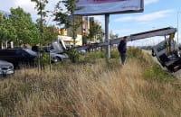 Działania strażaków przy Sikorskiego na Chełmie