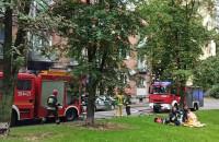 Pożar budynku na ul. Reflektarskiej