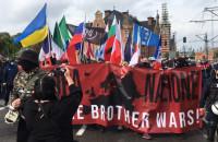 Narodowcy i przeciwnicy faszyzmu na ulicach Gdańska