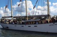 Baltic Sail. Kapitan Borchardt na Motławie