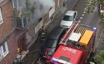 Pożar na ul. Refektarskiej