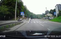 Wyprzedzanie na przejściu Słowackiego