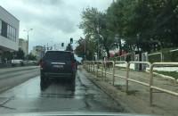 Ścieki płyną ulicą beethovena, chyba ...