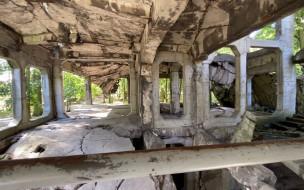 Nowe Koszary na Westerplatte. W środku tego budynku detonowano bomby