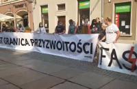 Manifestanci wyszli na ulice Gdańska