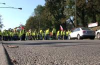 Rybacy blokowali wjazd do Gdańska
