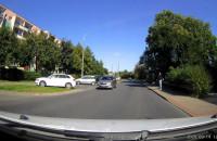 Wyprzedzanie na przejściu przed skrzyżowaniem