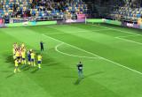 Arkowcy dziękują piłkarzom po wygranej 4:0