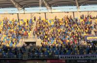 Arka Gdynia - Miedź Legnica 4:0. Gol w 3. min.