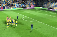 Arka Gdynia - Miedź Legnica 4:0. Feta po meczu