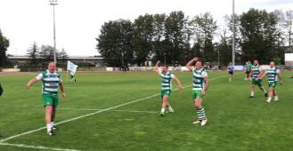 Rugbyści Lechii Gdańsk wygrali z Arką Gdynia 16:15