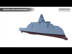 Fregata wielozadaniowa - projekt Remontowa Marine Design & Consulting