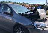 Wypadek na rondzie Kaczmarskiego na Matarni