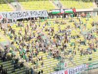 Lechia Gdańsk - Stal Mielec 4:2. Radość po golu
