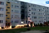 Pożar na parterze bloku przy ul. Wejhera