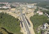 Pierwszy asfalt na gdyńskim odcinku Trasy Kaszubskiej