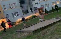 Pożar Wejhera 13 na Żabiance