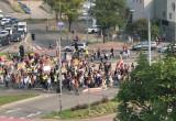 Strajk klimatyczny Grunwaldzka/Wojska Polskiego